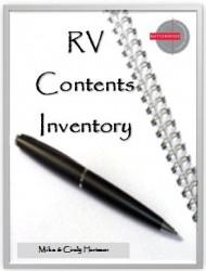 RV Inventory ebook Cover
